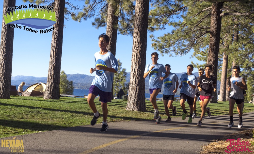 Best Relay Race In the US DeCelle Memorial Lake Tahoe Relay