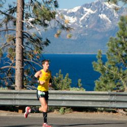 Running the lake tahoe relay