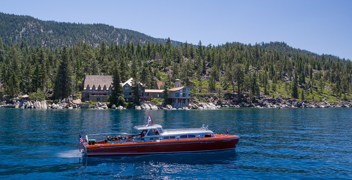 thunderbird lodge and the wooden boat