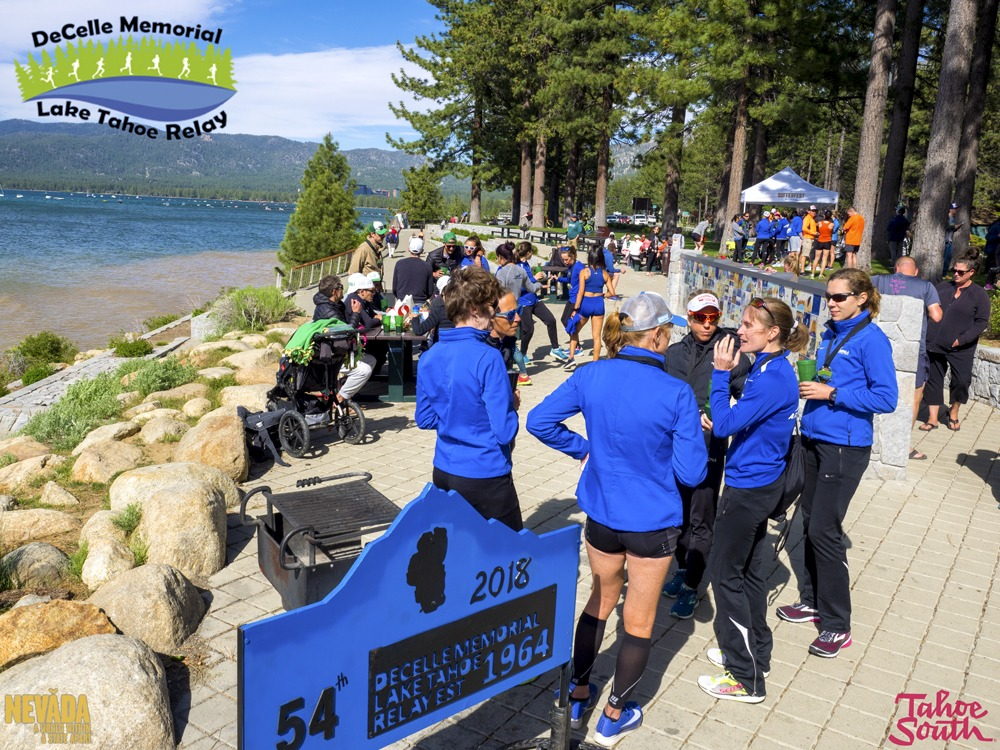 Lakeview Commons at South Lake Tahoe for Lake Tahoe Relay Race