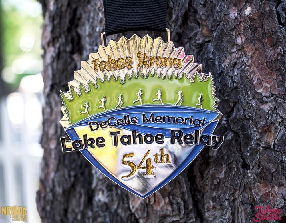 DeCelle Memorial Lake Tahoe Relay Race Medallion