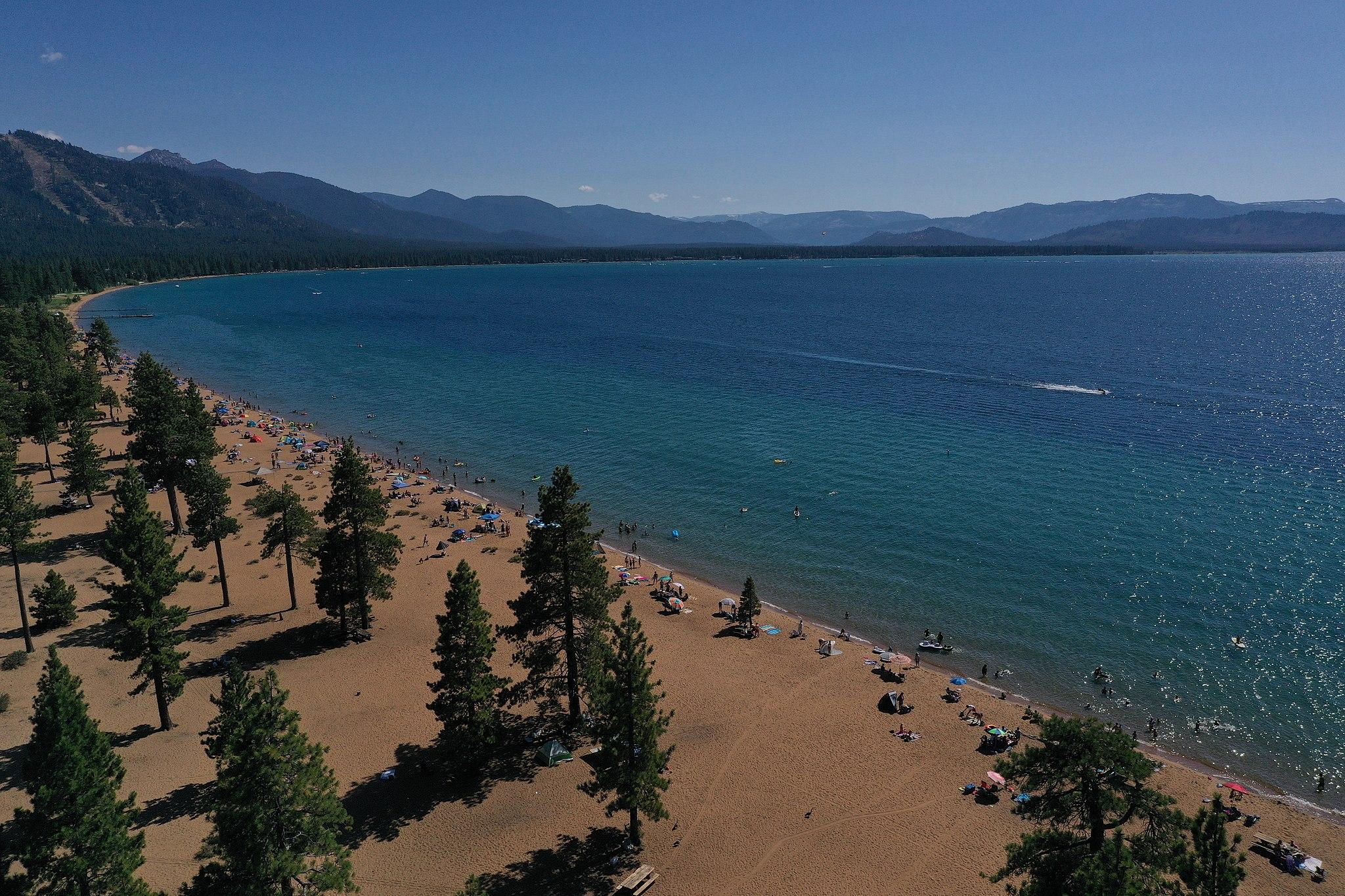 Nevada Beach Zephyr Cove Lake Tahoe