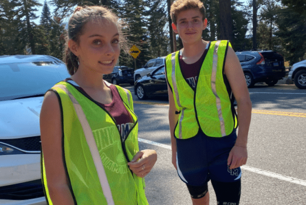2020 DeCelle Memorial Lake Tahoe Relay Runners