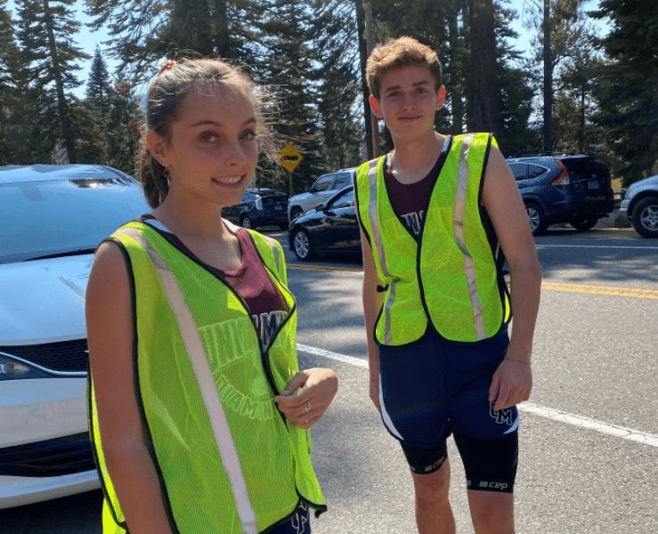 2020 DeCelle Memorial Lake Tahoe Relay Runners